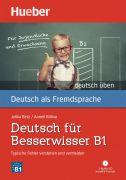 Deutsch für Besserwisser B1 + Audio CD (1 szt.)