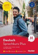 Hueber Sprachkurs Plus Deutsch A1/A2, wydanie anglojęzyczne