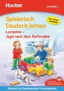 Spielerisch Deutsch lernen. Lernkrimi - Jagd nach dem Reifendieb (Lernstufe 2)