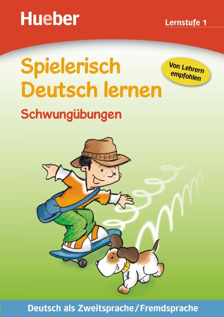 Spielerisch Deutsch lernen. Schwungübungen - Lernstufe 1