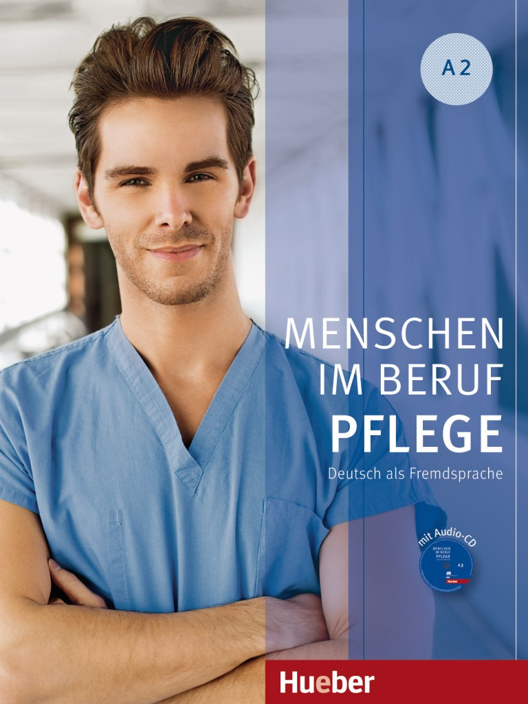 Menschen im Beruf - Pflege A2 + Płyta Audio CD (1 szt.)