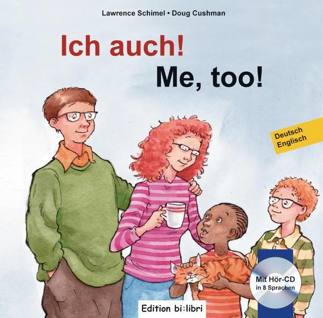 Ich auch! (Deutsch-Englisch)