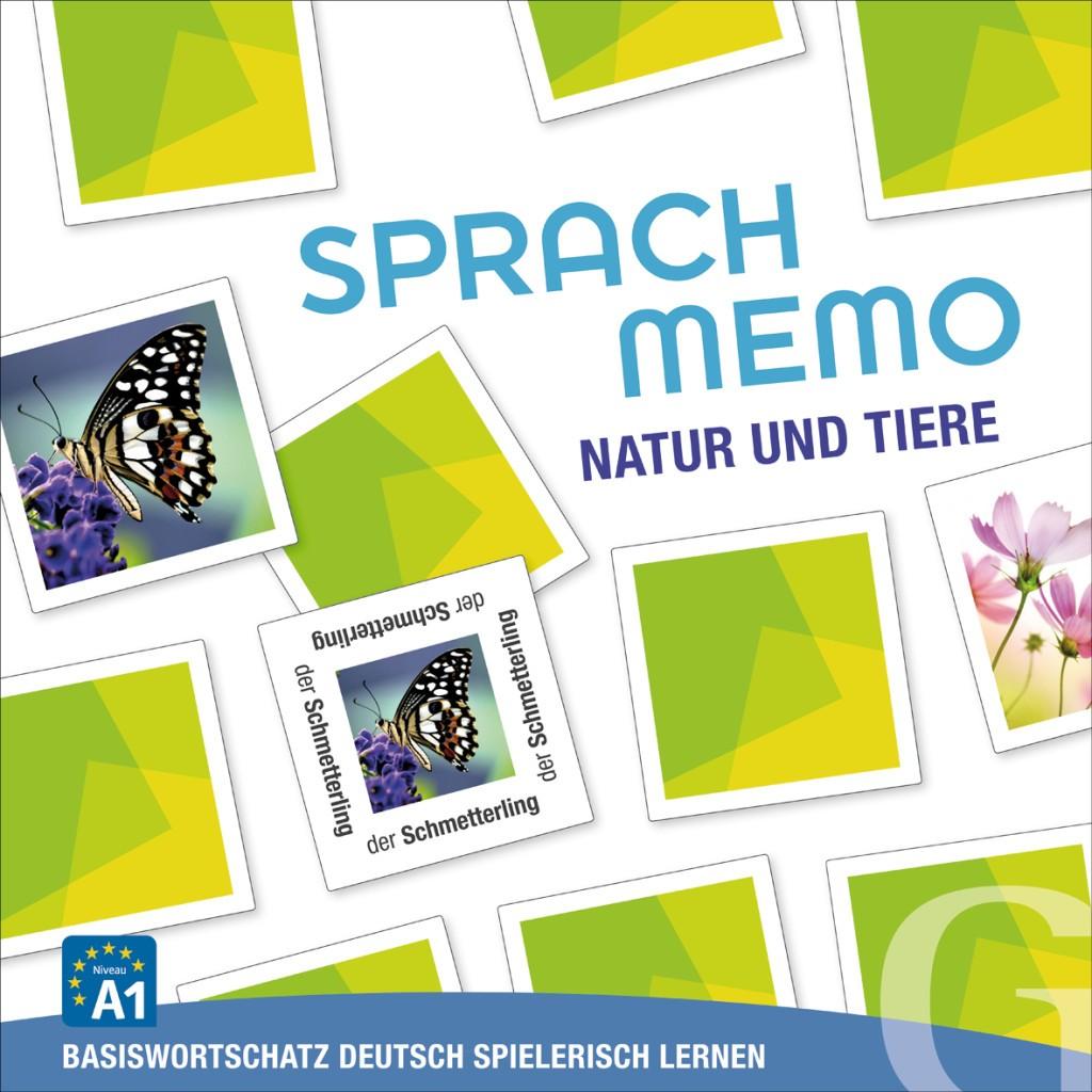 Natur und Tiere, Sprachspiel (gra memory)
