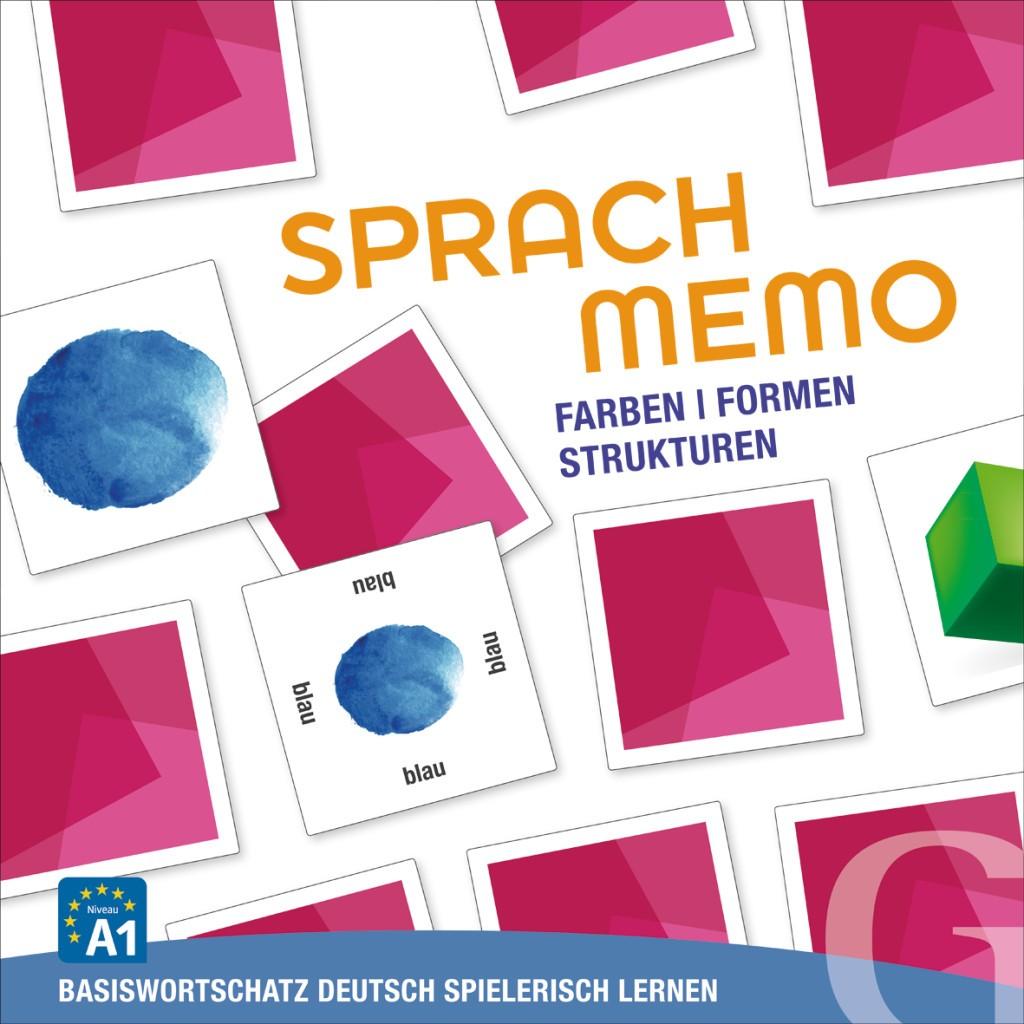 Farben, Formen, Strukturen, Sprachspiel (gra memory)